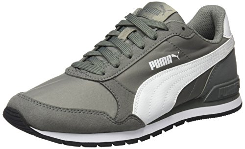 Puma Unisex-Erwachsene St Runner v2 NL Cross-Trainer, Grau (Rock Ridge White-Castor Gray), 43 EU (Herren Sneaker Cross-trainer)