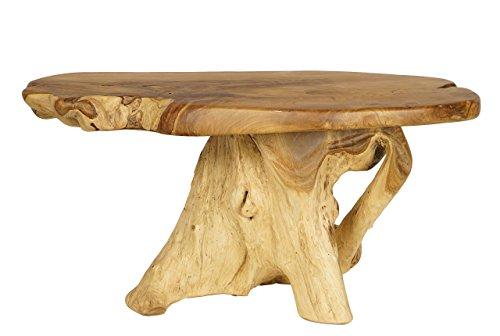 Mesa de tronco de árbol Hecha a Mano
