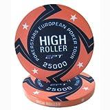 Fiches Ceramica EPT High Roller Replica Valore 25K