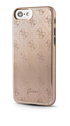 Guess GUHCP7MEPI 4G Aluminium platte Hart Schutzhülle für Apple iPhone 7 rose gold gold