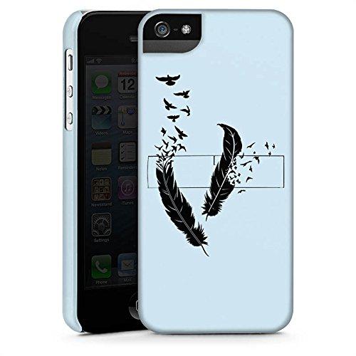 Apple iPhone 4 Housse Étui Silicone Coque Protection Ressort Oiseaux Paix liberté CasStandup blanc