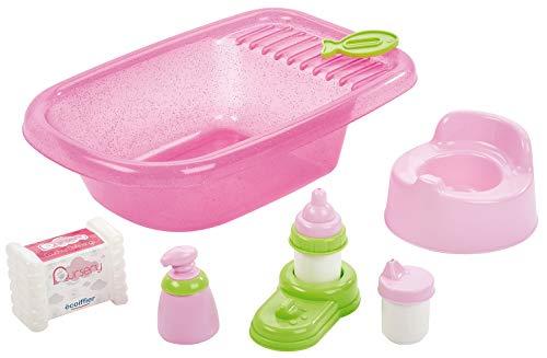 Écoiffier-4550788 Set de bañera Completa, Multicolor (Simba Toys 788)
