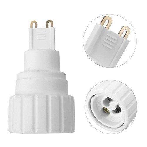 LaDicha G9 zu GU10 LED Glühbirne Basis Schraube Adapter Halter Sockel Konverter 220V 5a