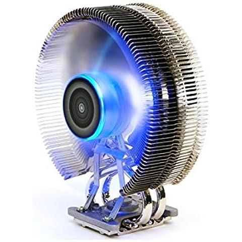 Zalman CNPS9800 MAX Procesador Enfriador - Ventilador de PC (Procesador, Enfriador, -40 - 150 °C, Socket 755, Socket AM2, Socket AM3, Socket AM3, Socket FM1, Socket FM2, Socket H (LGA 1156), Socket , Athlon, Athlon FX, Athlon X2, Core 2 Duo, Core 2 Extreme, Core 2 Quad, Core i3, Core i5, Core i7, Co, Cobre)