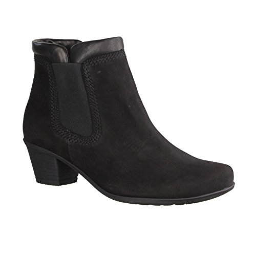 Gabor Shoes  Gabor, bottes & bottines femme Noir - Black nubuck