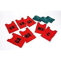 Children's Netball Team Bibs- Pack of 7 (Green)