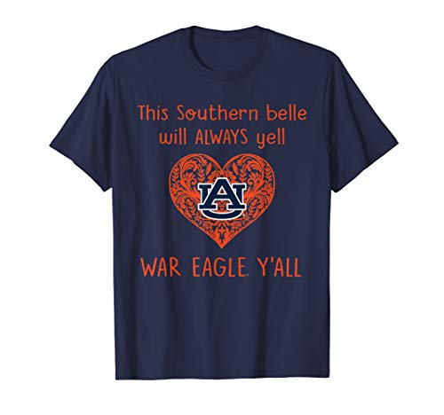 Auburn Tigers Southern Belle T-Shirt - Apparel