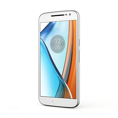 Moto G4   Smartphone libre Android (5.5    Full HD  4G  13 MP  2 GB de RAM  16 GB)  color blanco