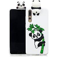 Everainy Huawei P20 Pro Silikon Hülle Ultra Slim 3D Panda Muster Ultradünn Hüllen Handyhülle Gummi Case Huawei... preisvergleich bei billige-tabletten.eu