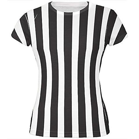 Halloween-Kostüm auf der ganzen Junioren T Shirt Multi SM Schiedsrichter (Schiedsrichter T-shirts Kostüm)