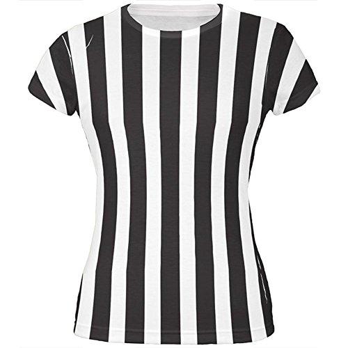 Halloween-Kostüm auf der ganzen Junioren T Shirt Multi MD Schiedsrichter (Schiedsrichter T Shirts Kostüm)