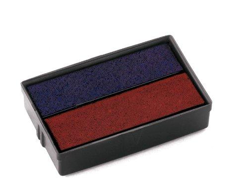 Colop Ersatzkissen rot/blau