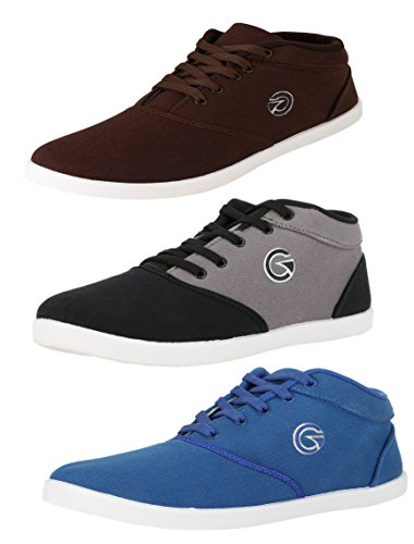 Globalite Men's Combo Of 3 Sneakers - 11