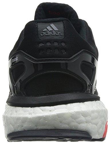 Adidas, Energy Boost 2 ESM, Scarpe sportive, Uomo C Black/FTWWHT/SOLRED