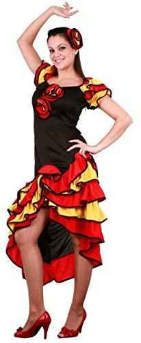 Imagen de disfraz de flamenca talla m/l
