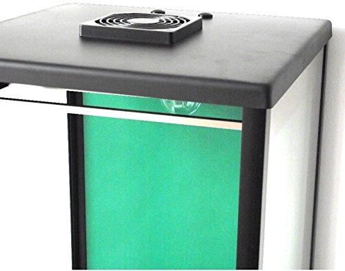 41rQn2T92aL - Biltong Maker Biltong Box Beef Jerky Dehydrator Biltong Spice with GREEN Back Panel, 100g FREE SPICE and Light Bulb