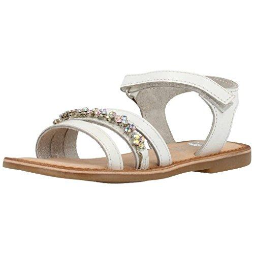 Gioseppo Ipsita filles, cuir lisse, sandales white