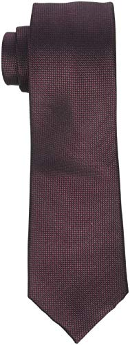 SELECTED HOMME Herren SLHNEW TEXTURE TIE 7CM NOOS B Krawatte, Braun Rum Raisin, One Size