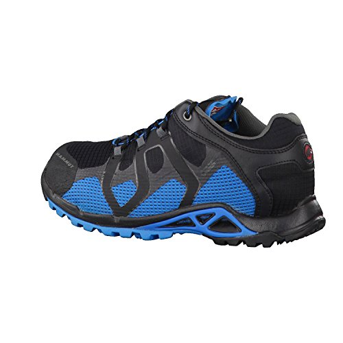 Mammut Comfort Low Surround, Chaussures de Randonnée Basses Homme black/atlantic
