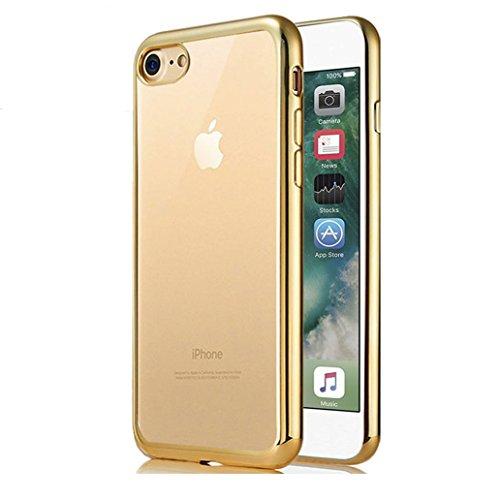 Cover iPhone 7 [Pellicola Protettiva in Vetro Temperato], Yoowei® Bumper