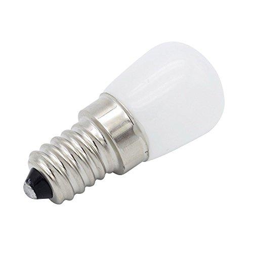 Phigoning 10 Stück LED Kühlschrank Birne E14 3W COB LED Lampe Leuchtmittel Licht Kaltweiß AC220-240V