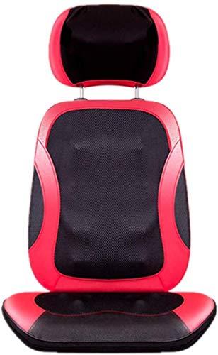 hrpay Schulter-Nacken-Massagegerät Elektrisch Massagekissen mit Waermefunktion,Multifunktionaler Haushalt Nacken und Rücken Knet-Massage für Nacken Rücken Gesäß -
