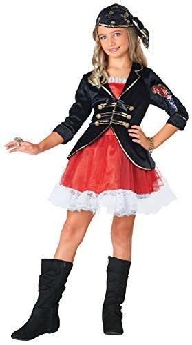 Seasons Jahreszeiten Pirat Captain Dress Up Kostüm, Klein (4-6)