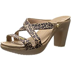 Crocs Zypern Iv Leopard Heel