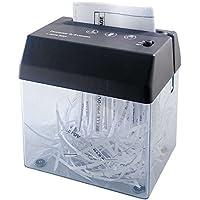 AIC - International 23462 Destructeur de Document Mini Plastique Noir 16 x 12 x 14 cm
