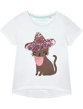 Blue Zoo Mädchen T-Shirt weiß weiß One size