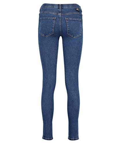 Dr. Denim Damen Jeans Lexy Second Skin Fit Blue