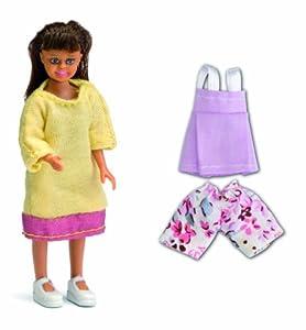 Lundby 60.8033.00 - Småland: Chicas con la Ropa para Las muñecas de la casa Importado de Alemania