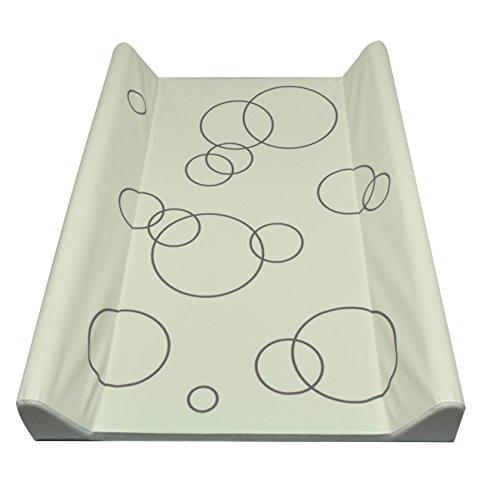 Asmi Wickelauflage Wickelmulde 50x70cm (New Circles Dark, 70 x 50 cm)