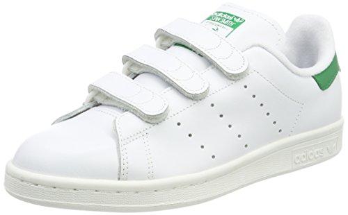 Adidas Originals Stan Smith CF, Zapatillas para Hombre, Blanco Footwear White/Footwear White/Green...
