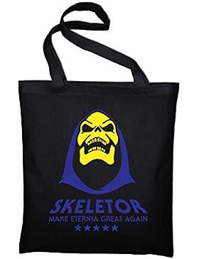 Make Eternia Great Again Skeletor Fun MOTU Jute Jutebeutel, Beutel, Stoffbeutel, Baumwolltasche