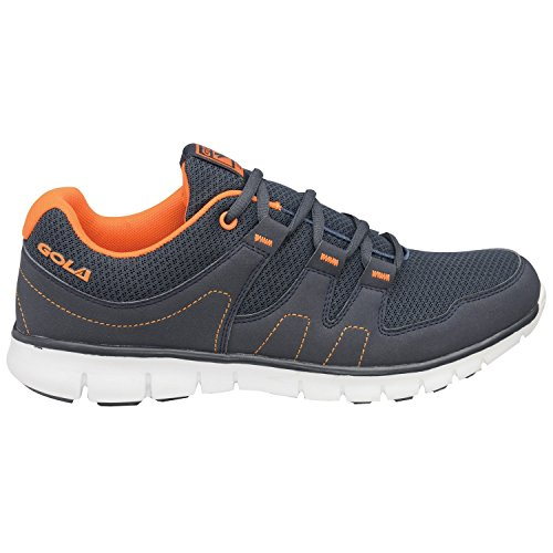 Gola - Termas, Scarpe sportive Outdoor da uomo Navy/Orange