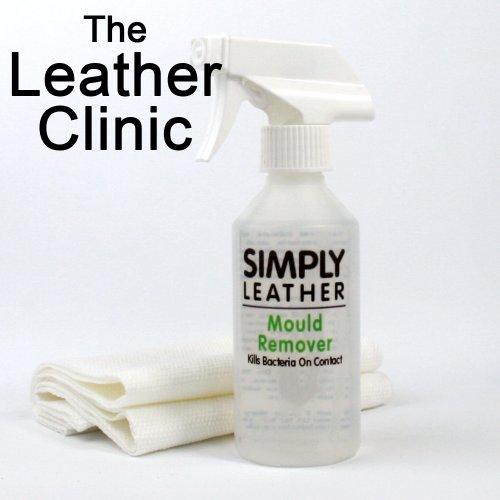Simply Leather - Spray per la rimozione di muffe/funghi dai tessuti in pelle, 250 ML