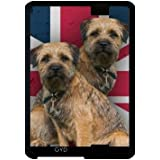"Funda para Kindle Fire HD 7"" (2012 Version) - Border Terrier En Union Jack by Tanya"