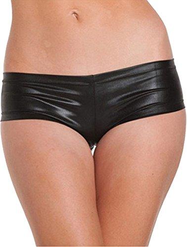 Queenshiny® Frauen nass Aussehen Serie Kostüme (Hot Pants) (Hot Damen Kostüm)