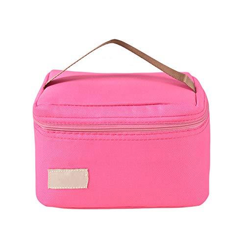 Freedom borsa termica pranzo impermeabile per biberon borsa frigo con tracolla staccabile sacchetto di immagazzinaggio del sacchetto del latte materno del contenitore,pink