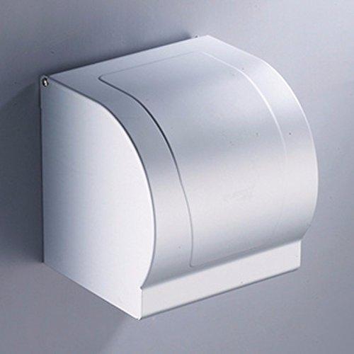 MDRW-Accesorios De Baño Titular De Papel Higiénico Toalla De Papel  Impermeable De Aluminio Espacio Totalmente Cerrado Caja Porta 982365810ef4