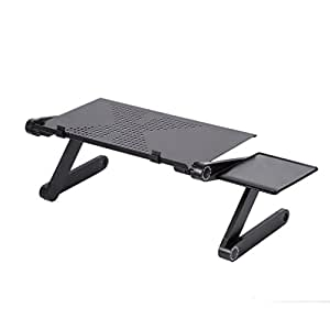 leshp table de lit pliable support ordinateur tablette. Black Bedroom Furniture Sets. Home Design Ideas