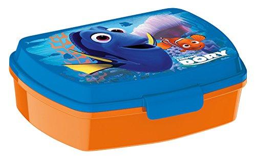 p:os 25326 Disney Pixar Findet Dorie Brotdose Promo, ca. 17 x 13,5 x 5,5 cm