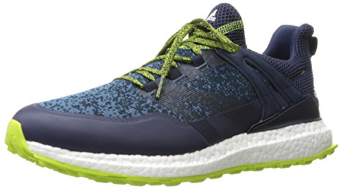 adidas Men's Crossknit Boost Conavy/CO Golf Shoe, Navy, 15 M US