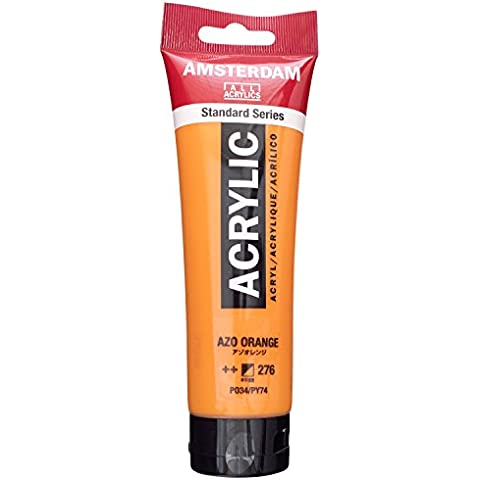 Royal Talens Farben - Colore acrilico Amsterdam, 120 ml, arancio