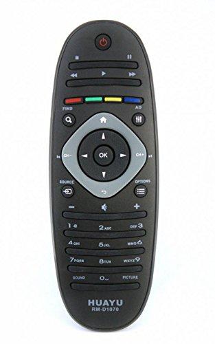 Télécommande pour TV Philips Téléviseur LCD LED–Modèle Rm-d1070= Rc2813903/01= 313923823491. certains des modèles pris en charge: 32PFL7406H/12, 32pfl7406K/02, 32pfl7486h/12, téléviseur LED/12, 32pfl7606h/12, 37pfl7606h/12, 32pfl7606K/02, 37pfl7666h/12, 42pfl7406h/12, téléviseur LED/12, 42pfl7486h/12, 42PFL7606H/12, 42plf7606K/02, 42pfl7656h/12, 42pfl7666h/12, téléviseur LED/12, 47PFL7606H/12, 47plf7606K/02, 47pfl7656h/12, 47pfl7666h/12, 47pfl7696h/12, Silver/12, Argent/02, 42pfl7696h/12