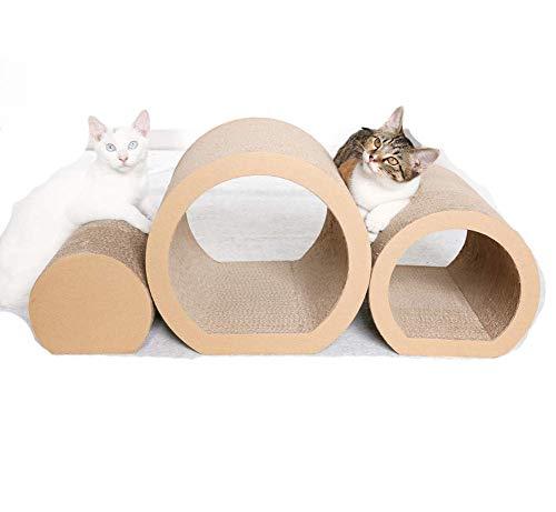 Aida Bz Tunnel Cat Scratching Board Nest Schleifkralle Sofa Widerstand zu Kratzen Katzenzugabe Corrugated Paper Cat Toy