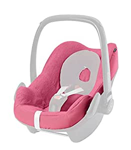 maxi cosi pebble pebble plus car seat summer cover pink baby. Black Bedroom Furniture Sets. Home Design Ideas