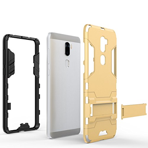 LeTV Cool 1 Cover, 2 In 1 Neue Armour Tough Style Hybrid Dual Layer Armor Defender PC Hartschalen mit Standfuß Shockproof Case ​​Für LeTV Cool 1 ( Color : 3 , Size : LeTV Cool 1 ) 1