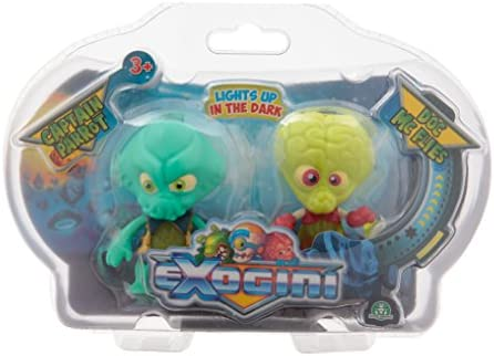 Exogini Exogini Exogini Figurines-Captain Parrot  Doc Mcfly, EXG042 80054f
